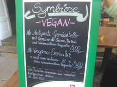A menu of Symbiose