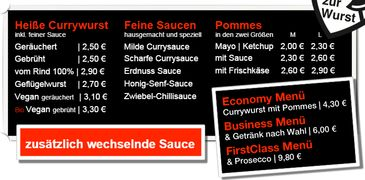 A menu of Curry & Co., Leipzig-Zentrum