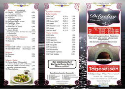 A menu of Dilgelay