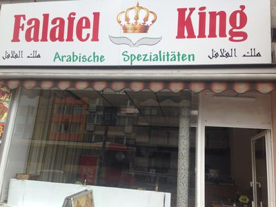 A photo of Falafel King