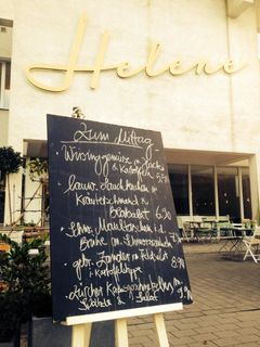 A menu of Helene