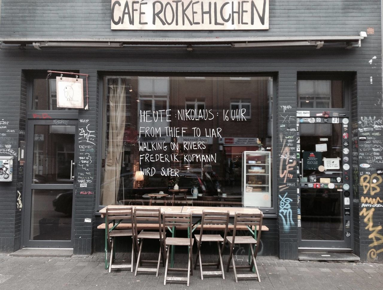 A photo of Café Rotkehlchen