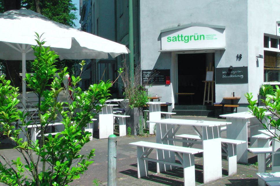 A photo of sattgrün, Flingern