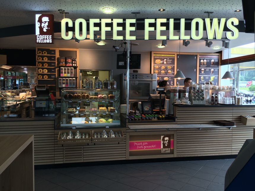 Coffee Fellows, Raststätte Holledau West