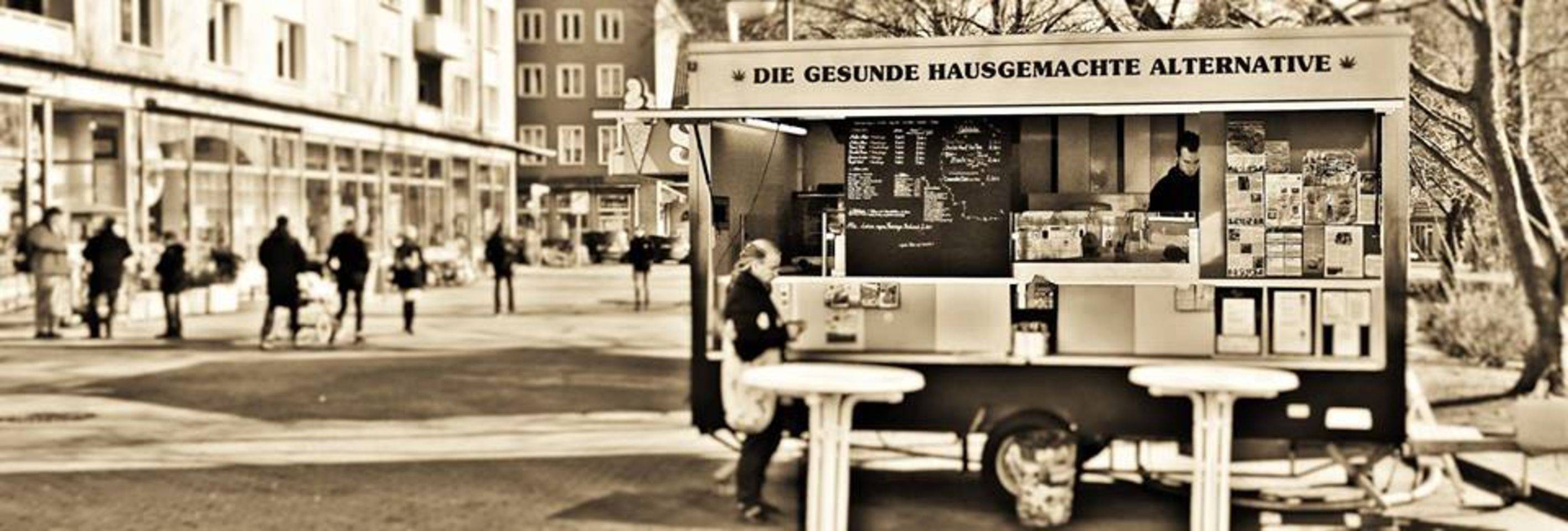 A photo of Burger Green Food Truck