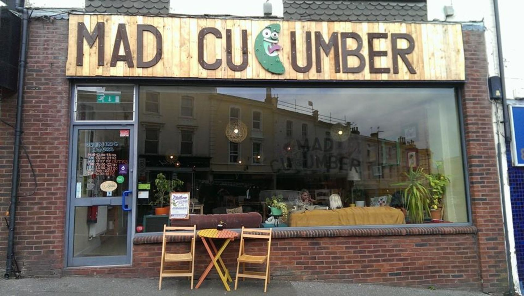 A photo of Mad Cucumber