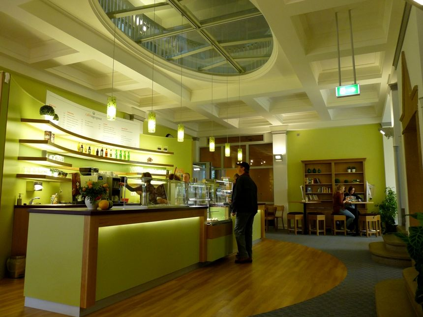 A photo of Café Tagespost