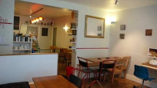 A photo of the settle down cafe