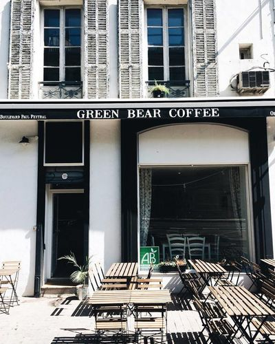 A photo of Green Bear Coffee - Canebière
