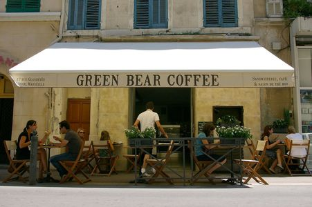 A photo of Green Bear Coffee - Opéra