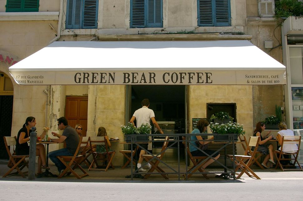 Green Bear Coffee - Opéra