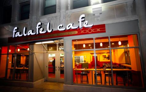 A photo of Falafel Café