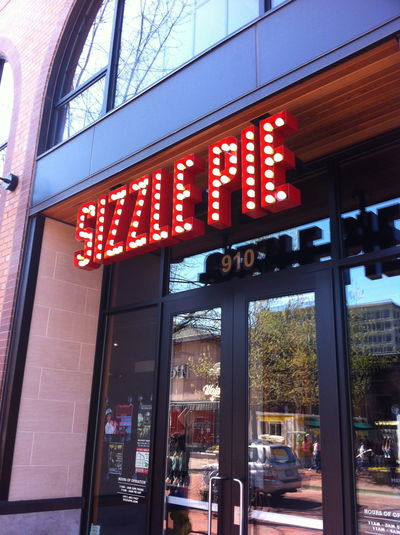A photo of Sizzle Pie, Eugene