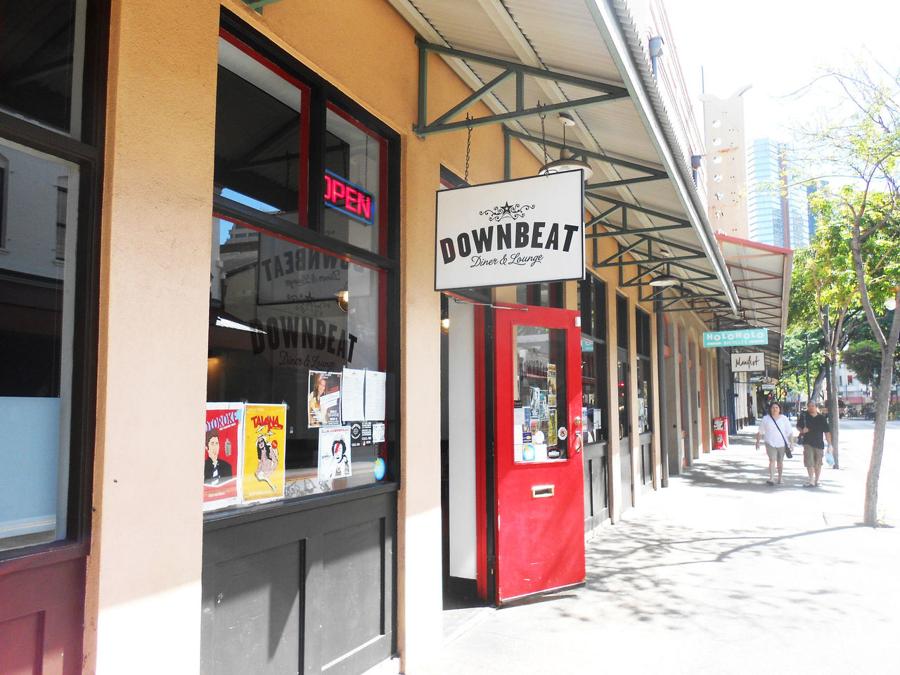 A photo of Downbeat Diner & Lounge