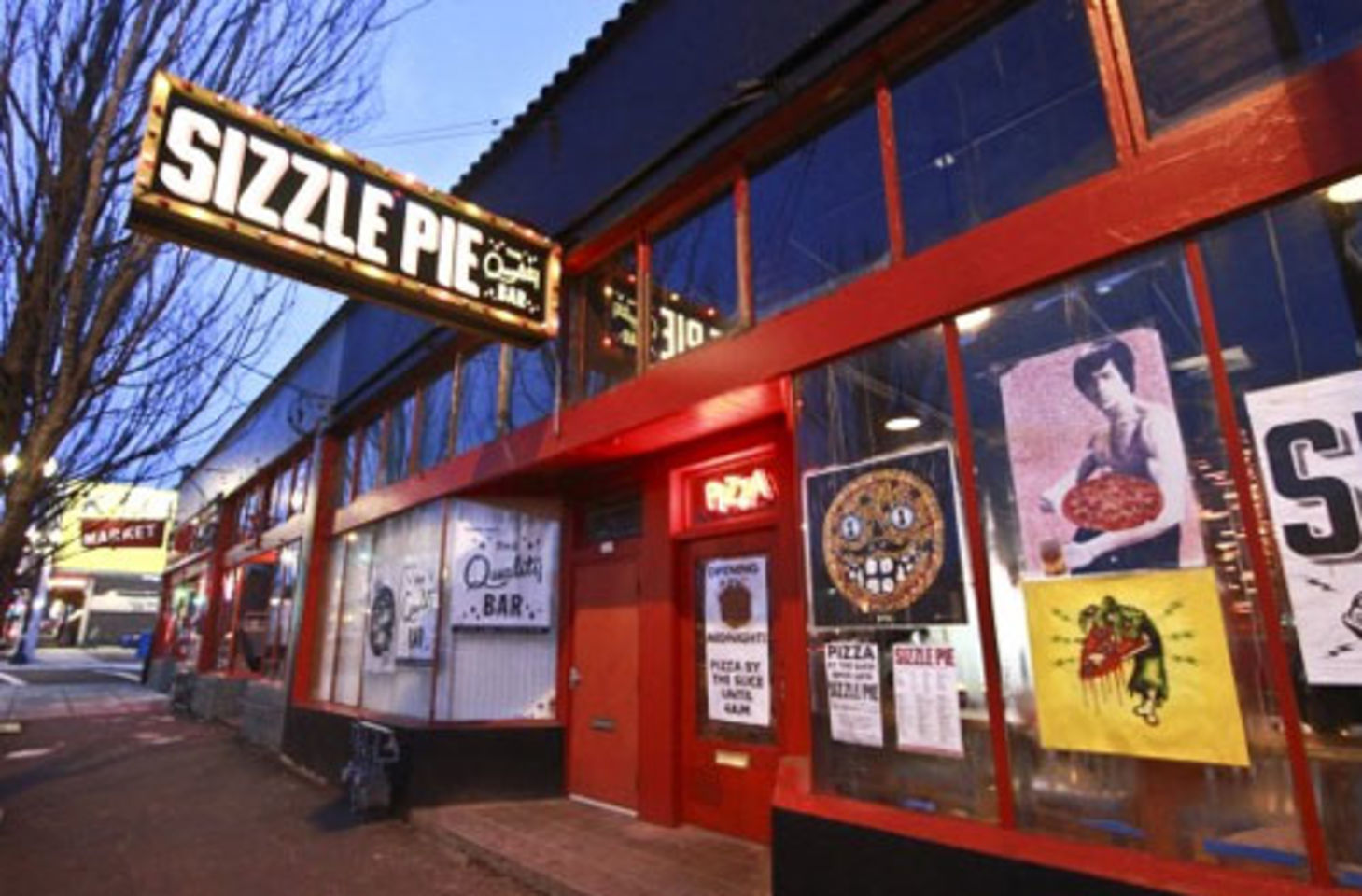 A photo of Sizzle Pie, East Burnside