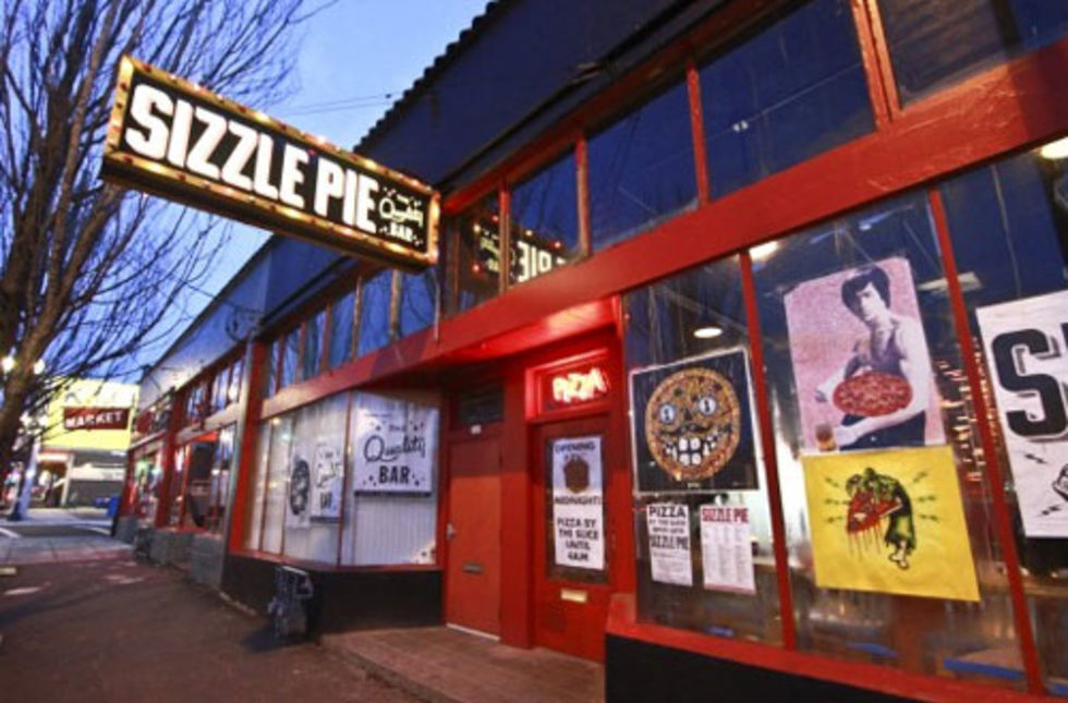 Sizzle Pie, East Burnside
