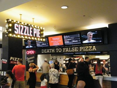 A photo of Sizzle Pie, Moda Center