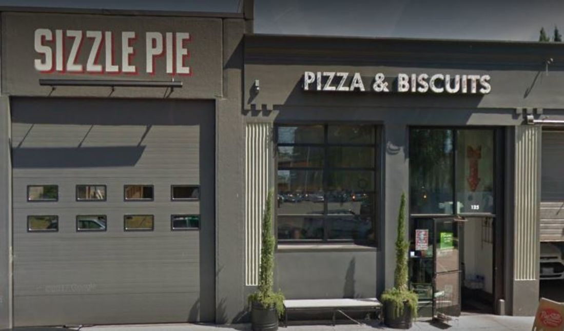 A photo of Sizzle Pie, Schuyler Street