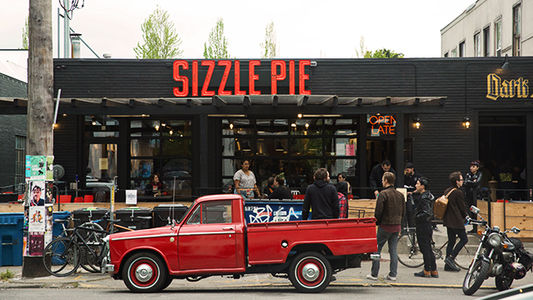 A photo of Sizzle Pie