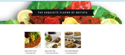 A menu of Nefista