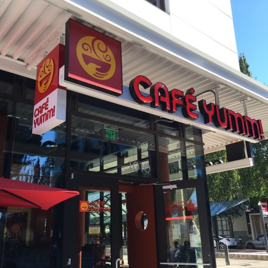 A photo of Café Yumm!, NE 7th Avenue