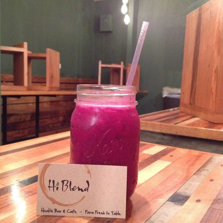 A photo of HiBlend Health Bar & Cafe