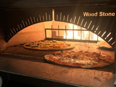 A photo of Strato's New York Pizzeria