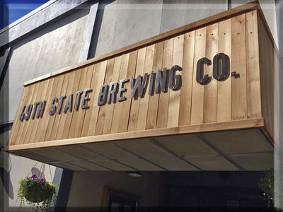A photo of 49th State Brewing Company