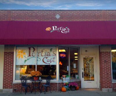 A photo of Portia's Café