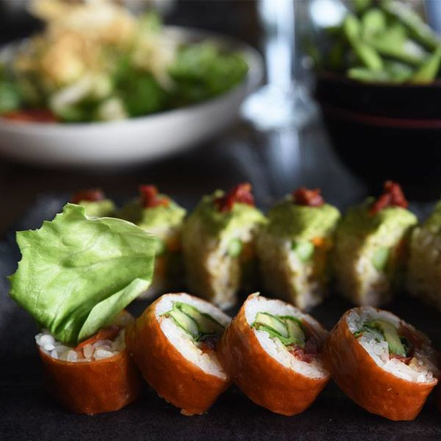 A photo of Blue Sushi Sake Grill, Grayhawk Pointe
