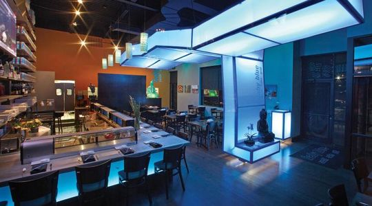 A photo of Blue Sushi Sake Grill, Shops of Legacy