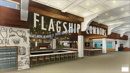 A photo of Flagship Commons