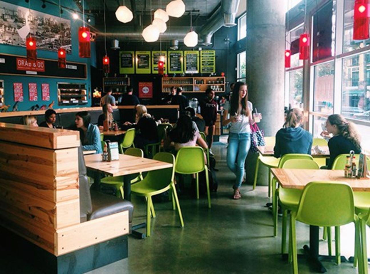 A photo of Laughing Planet Café, Hollywood