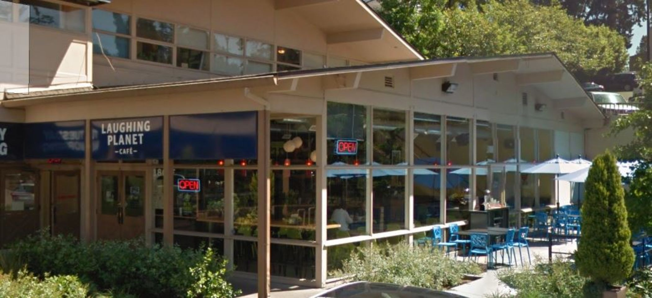 A photo of Laughing Planet Café, Oswego Village