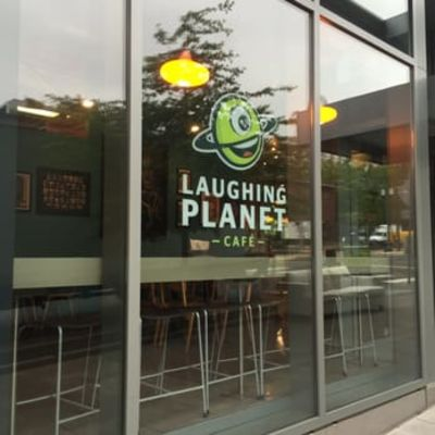 A photo of Laughing Planet Café, NW 21st Ave