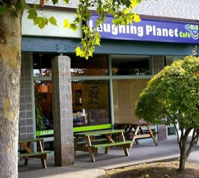 A photo of Laughing Planet Café, SW Vermont St