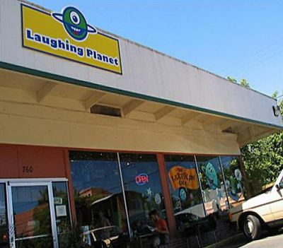 A photo of Laughing Planet Café, Blair Blvd
