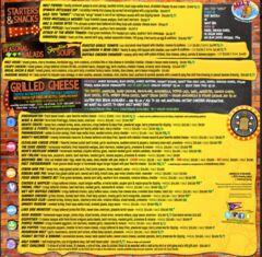 A menu of Melt, Progressive Field