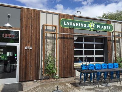 A photo of Laughing Planet Café, Tahoe St