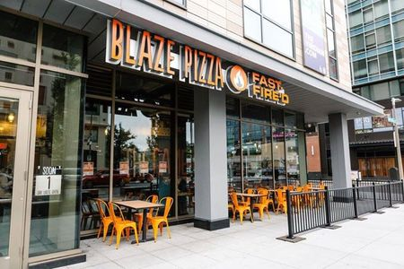 A photo of Blaze Pizza, Fenway