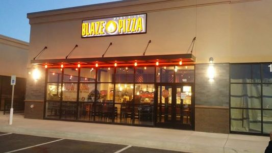 A photo of Blaze Pizza, Eglin Street