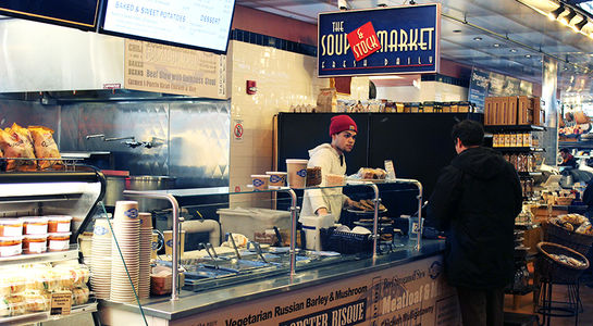 A photo of The Soup Market, Milwaukee Public Market