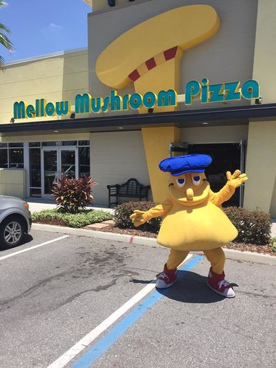 A photo of Mellow Mushroom, Internat. Drive