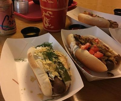 A photo of Los Banditos Hot Dog Speakeasy