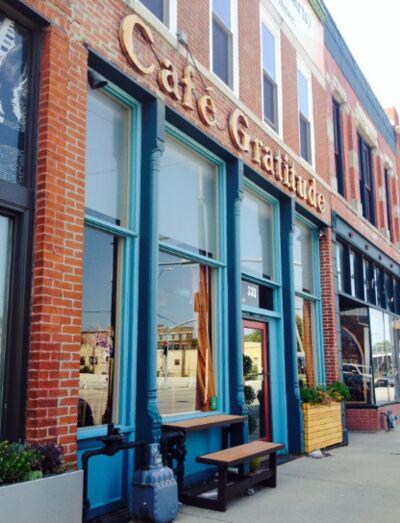 A photo of Café Gratitude