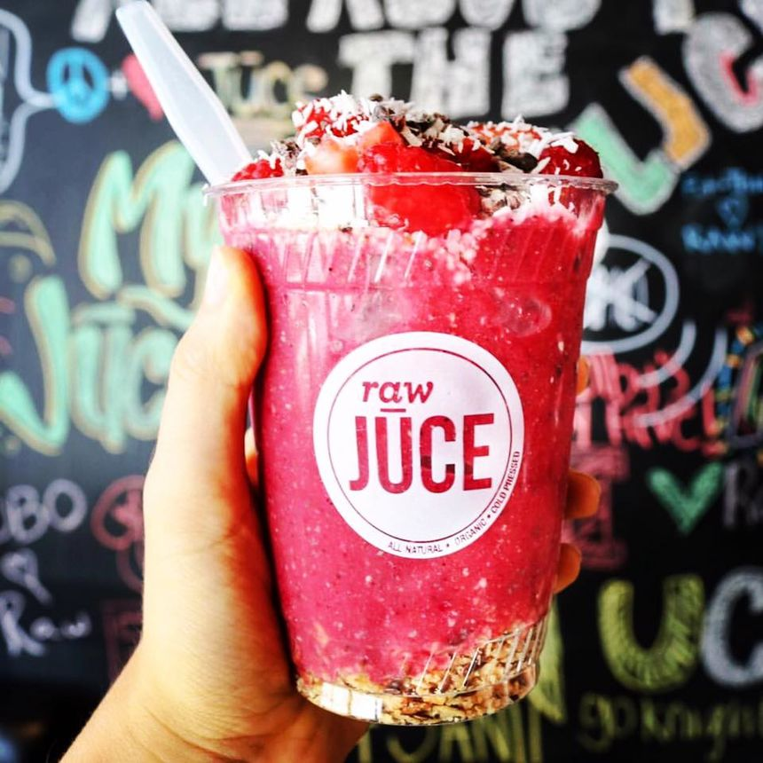 Raw Juce, South Beach