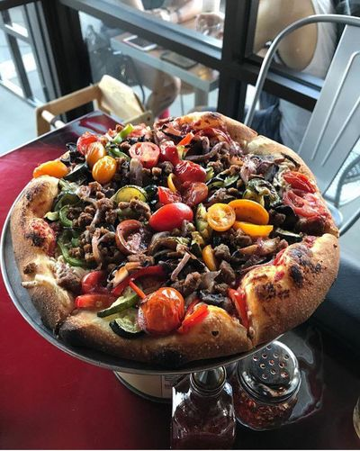A photo of zpizza, Lido Island