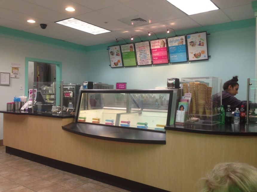 A photo of TCBY