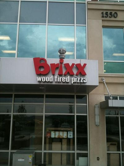 A photo of Brixx Wood Fired Pizza