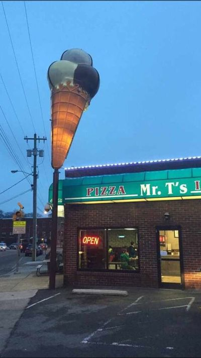A photo of Mr. T's Pizza & Ice Cream